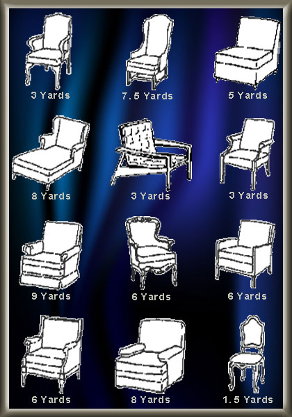 Dsd Chairs, How Much Fabric To Reupholster A Chair